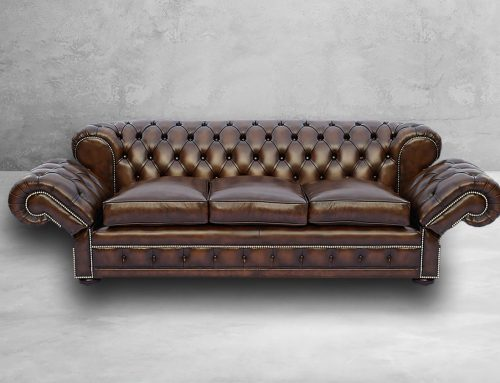 Chesterfield Drop Arm