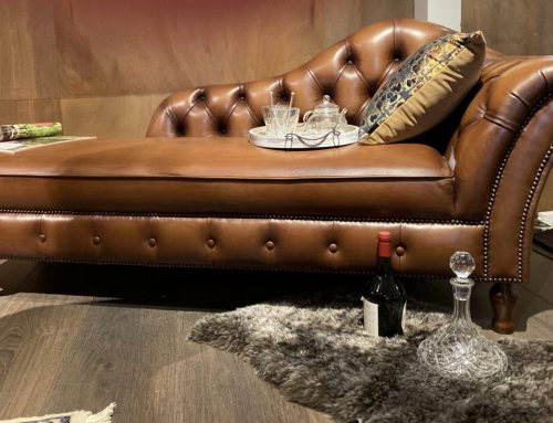 Die Chaiselongue – das Chesterfield Lounge Sofa